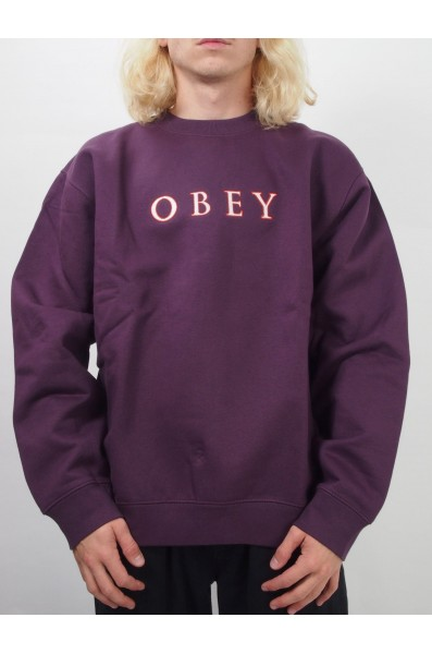 Obey Curtis Crew Speciality Fleece