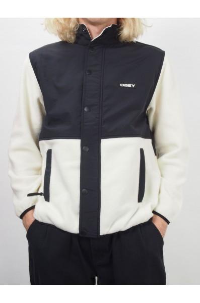 Obey Commando polar fleece jacket