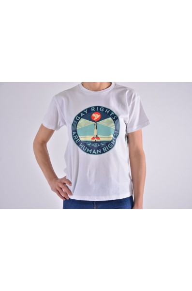 Obey Wmn Fire Island Recycle Tee