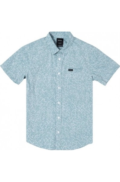 Rvca Yo Oblow Waves S/s