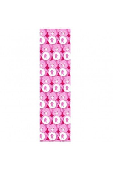 Grizzly Grip Sheet Postive Beards Print Pink