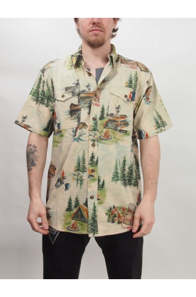 Hooké Camp Vibe S/s Shirt