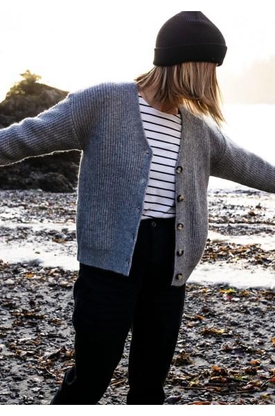 Louve Ethical Cardigan Knit