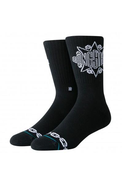 Stance Anth Gang Gangstarr Sock Blk