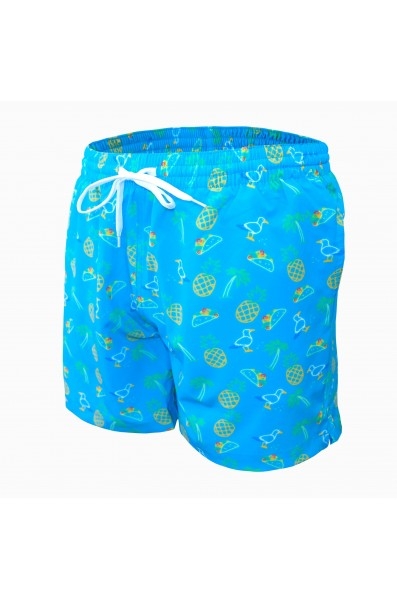Undz Stretch Swimtrunk Neon Bird Ans Tacos