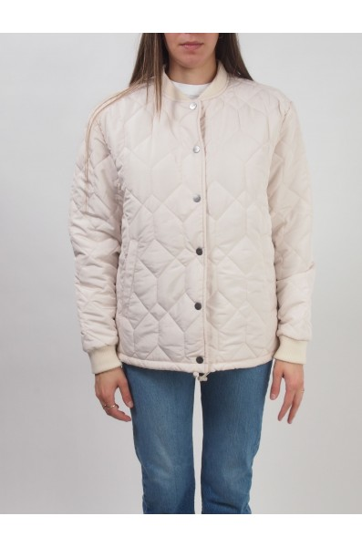 Rvca Wmn Downtown Quilted Jacket