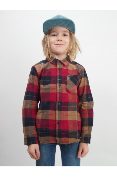 Volcom boys Caden Plaid L/s